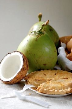 Delicious Buko (young coconut) Pie of the Philippines! :)