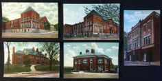 Early Postcard Lot - 5 Views of New London Conn. CT Metropolitan & News Unused!