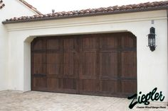 32 Best Spanish Style Garage Doors Images Wood Garage