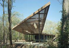 Art Visitor's Pavilion - marlon blackwell architects