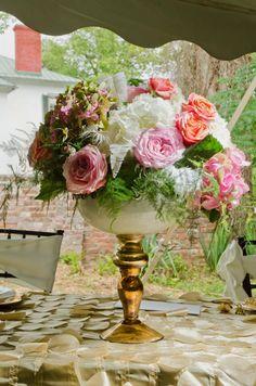 Panhandle WV Vintage Elegance Vow Renewal at Historic Mansion Estate | Bloomed To Last