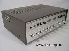 Sansui AU70 (1964) 2x25 watts. Une légende.