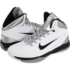 c74ef40efe91 AwesomeNice Nike Women s Basketball Shoes 6.5 Air Max Hyped White Black  407708 Shoe City