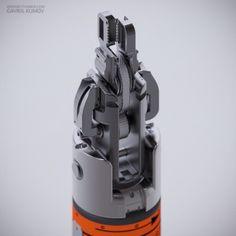 Hexeract / 3D Doodling / Rendering / 2014