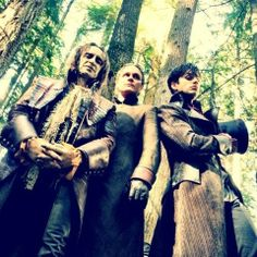 Rumpelstiltskin, Dr. Frankenstein, Mad Hatter - Once Upon A Time #FlawlessMen