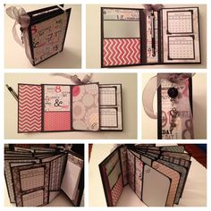 Calendar organizer mini book. --Count the Happies--