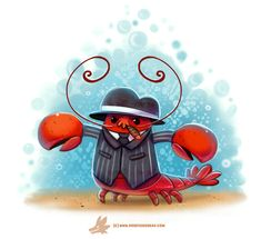 Daily Paint #1238. Mobster, Piper Thibodeau on ArtStation at https://www.artstation.com/artwork/nWmo4