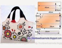 Handbags with patterns. - DIY, ideas for creativity - DIY Ideas