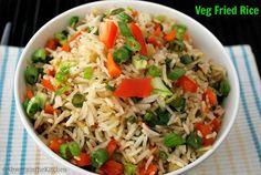 Vegetable Fried Rice - Veg Fried Rice