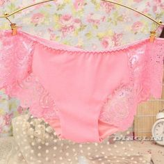 GZDL Comfort Women Ladies Lace Modal Floral Sheer Sexy Panties Seamless Underwear Knickers Briefs Thong Lingerie Calcinha NY202
