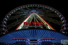 #Rotterdam by Night | Ferris Wheel The View | MS Fotografie