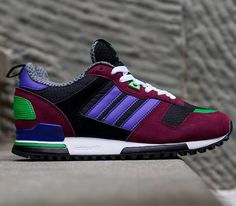 adidas Originals ZX 700 W-Black-Black Purple-Marron - Chubster favourite ! - shoes for men - chaussures pour homme - Adidas Zx, Adidas Sneakers, Shoes Sneakers, Sneak Attack, Bike Shoes, Everyday Shoes, Kinds Of Shoes, New Shoes, Adidas Originals