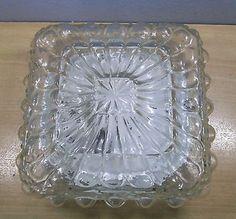 Mid Century Bubble Flush Mount Glass Lamp #BT