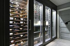 modern wine cellar - Google Search