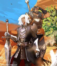Фенрис,DA персонажи,Dragon Age,фэндомы,Хоук,Dragon Age Inquisition,Варрик Тетрас,dakkun39