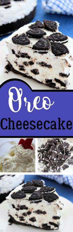 Oreo Cheesecake - No Bake Recipe