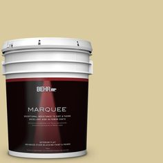 BEHR MARQUEE 5-gal. #PPU8-11 Mojito (Green) Flat Exterior Paint