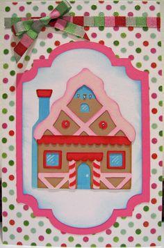 Cricut Candy house