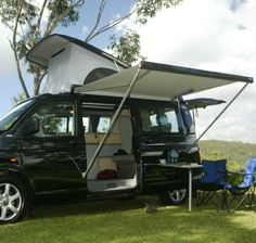 Vw Transporter Camper Conversions; I need a slide out canopy for fiona!