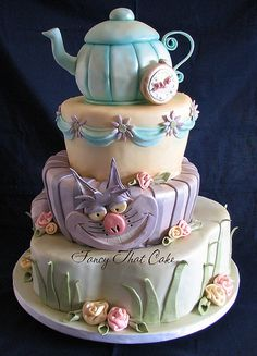 Alice in wonderland - love this for a kitchen tea- always had a fascination with tea parties and think a mad hatters themed one would be awesome
