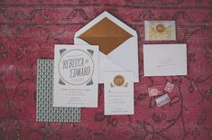 I like the little packet of confetti to through at the wedding - 1930′s Wizard of Oz Wedding Inspiration