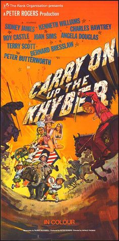[ CARRY ON UP THE KHYBER POSTER ]