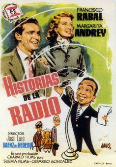 1955 - Historias de la Radio - tt0048170 Cinema Posters, Film Posters, Film Movie, Movies, Films, North By Northwest, Movie Theater, Spanish, Hollywood