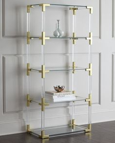 Want this real bad, now I just need a place to put it. Jacques Etagere by Jonathan Adler at Horchow.