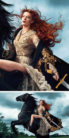 Florence Welch by Norman Jean Roy - Vogue US 120th Anniversary, Sept 2012