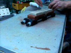 Tecnica para afilar cuchillos.