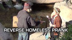 Reverse Homeless PRANK - Giving NON-Homeless People Money!