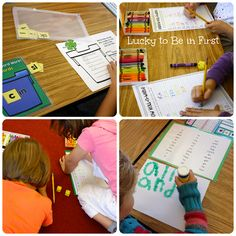 Daily 5 in First Grade!
