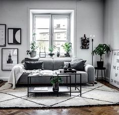 33 Amazing Grey White Black Living Room Decor Ideas And Remodel. If you are looking for Grey White Black Living Room Decor Ideas And Remodel, You come to the right place. Here are the Grey White Blac. Living Room Green, My Living Room, Living Room Interior, Living Room Furniture, Black White And Grey Living Room, Gray Living Room Walls, Living Room Color Schemes, Living Room Designs, Design Salon