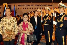 Beijing | Iriana Jokowi | traditional kebaya
