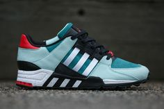 Bait X Adidas EQT running support big-apple Best Sneakers, Sneakers Fashion, Fashion Shoes, Mens Fashion, Me Too Shoes, Men's Shoes, Shoe Boots, Shoes Sneakers, Adidas Zx