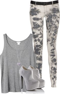 """Grey it out - in some cases"" by mindless-sweetheart ❤ liked on Polyvore"