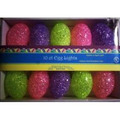 Easter Egg Sparkle Light Set