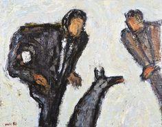 Tuomo Saali, 1988, öljy, 30x37 cm - Hagelstam A133