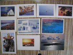 10 Postcards of Greece. $10.00