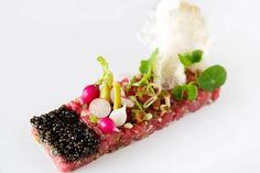 Pétrus - Gordon Ramsay, Knightsbridge. Michelin-star. 4 courses & a glass of champagne £45 pp. Dinner Mon-Wed until 31st Oct.