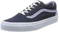 Vans Old Skool TC Skate Shoes 95 DM US Dress BluesCaptains Blue * Click image for more details.