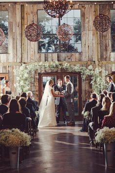 Here's another wedding that makes me think of yours @Ash !