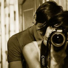 The moment Luke let Natalie take his photo <3 (Come Away With Me~Kristen Proby) AWESOME BOOK.. pretty saucy though. lol