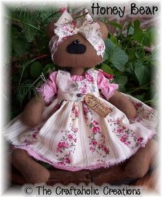 honey_bear/RETIRADO DA NET This is the picture that I believe goes with the pattern I just posted for it.