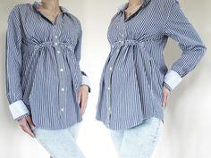 Also als mir die Idee kam, mir aus einem alten Herrenhemd, eine Bluse zu nähen, war ich ein wenig skeptisch. Aber das es dann doch sooooo einfach ist, hätte ich ja wirklich nicht gedacht. Eines sag ich euch . . . Es wird nicht die letzte sein . . .   Du brauchst: altes Herrenhemd (ich trage Größe 36, das Hemd ist Größe M) Schere Schneiderkreide Maßband Hutgummi (eigentlich könnte man oberhalb der Brust super smoken, aber ich zeige euch heute eine flexible Variante) ein Hemd von dir das gut…