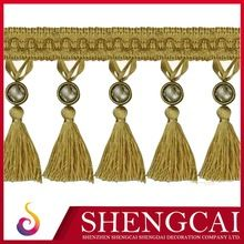 Super quality Best-Selling trimming fringe tassel lace