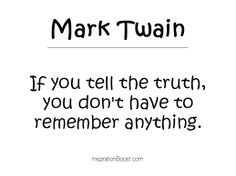 Image result for quotes about truth and lies