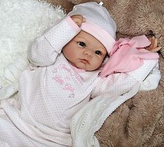 "AWW! SO CUTE! - Precious - 20"" Anatomically Correct Baby Girl Collectors Doll"