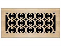 Laser Cut Wood Grilles | Pacific Register Company Laser Cut Wood, Laser Cutting, Wall Vent Covers, Types Of Wood, Ceiling, Ideas, Wood Types, Ceilings, Thoughts