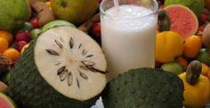 Suco de graviola – Benéfico e refrescante